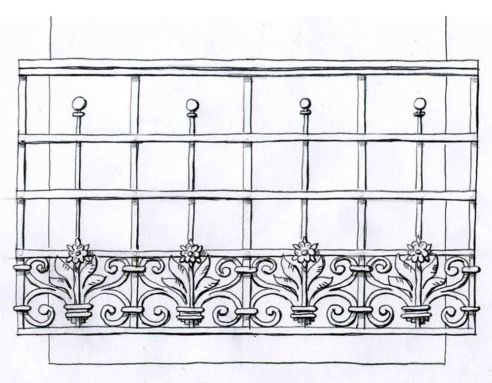 Кованые ограждения балконов. кузница на клязьме - ковка изде.